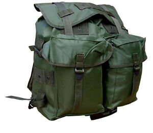 Army-Combat-Military-Rucksack-Day-US-Travel-Pack-Bag-Surplus-ALICE-Green-40L-New