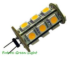 G4 18 SMD LED 12V (10-30V DC / 12-18V AC) 3.5W 280LM WHITE BULB ~40W