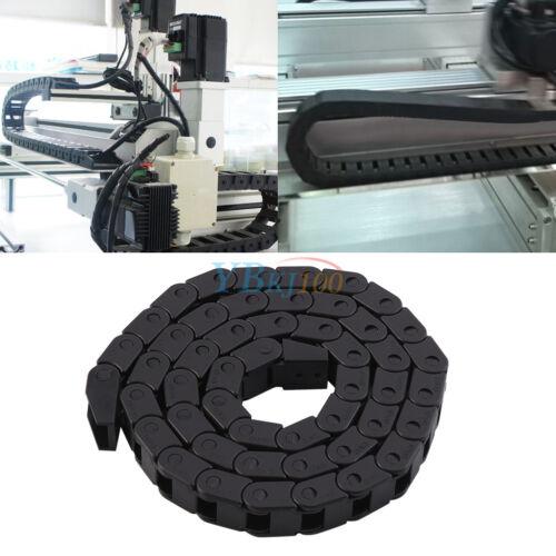 1M R28 Nylon Energiekette Schleppkette Drag Chain 10x10mm f CNC 3D Drucker NEU❤