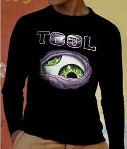 54ad4996 TOOL BAND 1 Long Sleeve New T-shirt Rock T-shirt Rock Band Shirt   eBay