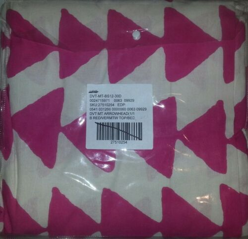 NEW URBAN OUTFITTERS MAGICAL THINKING PINK ARROWHEAD DUVET COVER TWIN XL