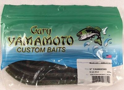 "Gary Yamamoto Custom Bait 4/"" YAMASenko 9S-10-239 for Bass//Walleye//Pike//Pickerel"