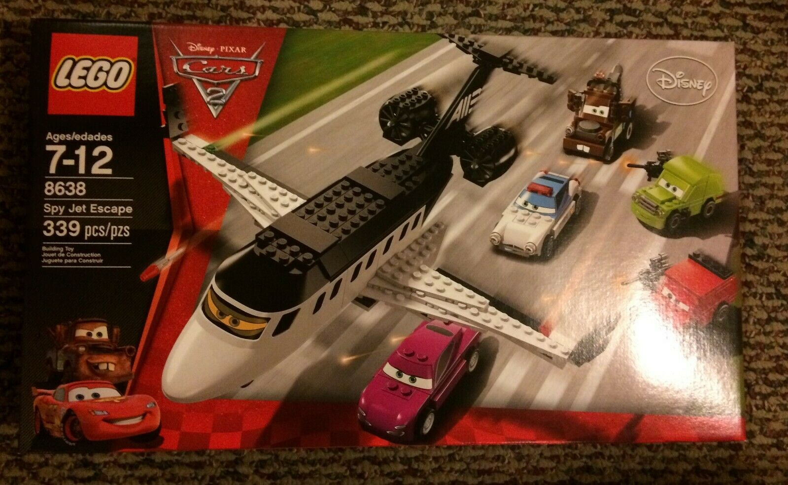 LEGO 8638 Autos Spy Jet Escape - BRAND NEW SEALED