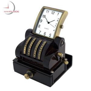 CASH-REGISTER-VINTAGE-STYLE-MINIATURE-POS-COLLECTIBLE-DESKTOP-MINI-CLOCK-GIFT