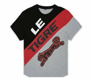 Le-Tigre-Grey-Bailey-T-Shirt