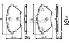 scheibenbremsbelagsatz BoschPlaquettes de freins avec accessoires arrière 0 986 494 934