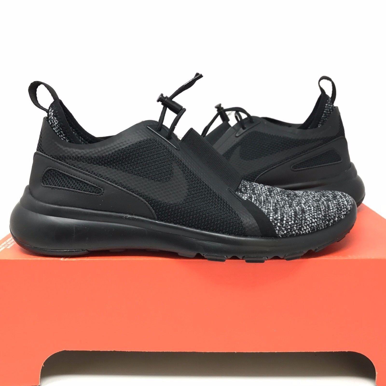 Nike Current Slip On BR Black 903895-001 - Breathe Dart Presto Flyknit Tech Sock
