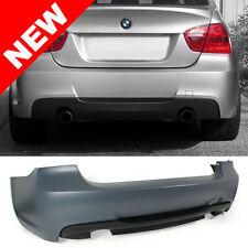 06-11 BMW E90 3-SERIES 4DR SEDAN M-TECH STYLE DUAL OUTLET REAR BUMPER (NON-PDC)