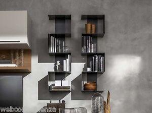 Libreria viper bookshelf in metallo laccato opaco soggiorno living