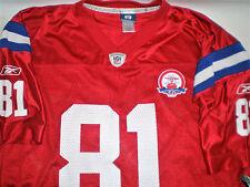 RARE 81 Randy Moss AFL 50th Anniversary New England Patriots Jersey Reebok Large