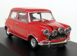 Greenlight-1-43-Scale-Italian-Job-1967-Austin-Mini-Cooper-S-1275-Mk1-Red-Model