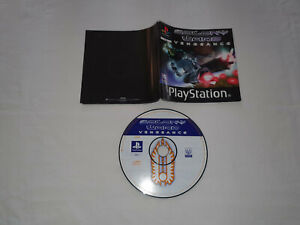 cd disque et notice ps1 playstation 1 sony COLONY WARS VENGEANCE