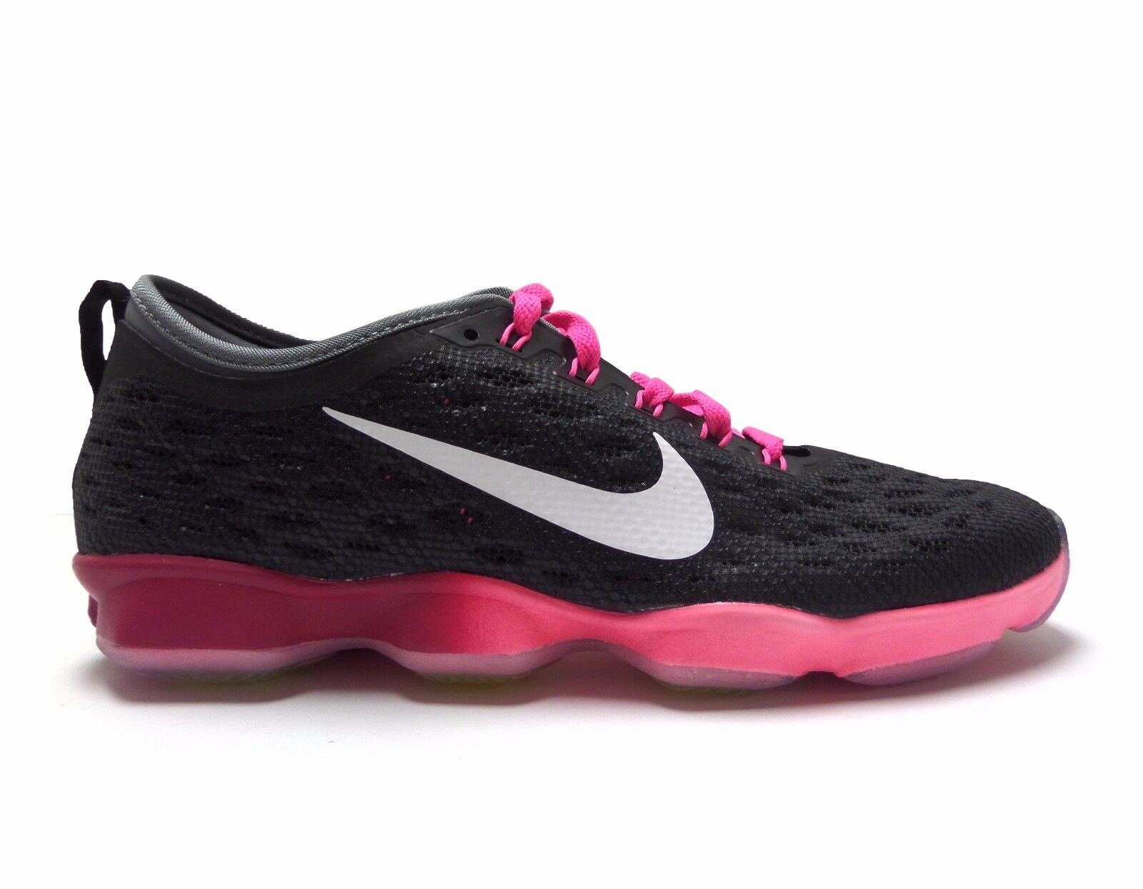 Nike Women's ZOOM FIT FIT FIT AGILITY Training shoes Black Pink Pow 684984-006 a1 20ff11