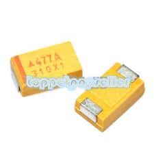 45 Values each 5pcs=225PCS SMD Tantalum capacitor kits A B C D size 0.1UF-470uF