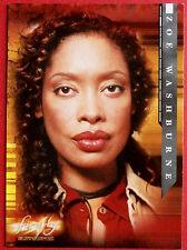 Joss Whedon's FIREFLY - Card #03 - Zoe Washburne - Inkworks 2006