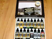 Av Vallejo Construction Building Colours Acrylic Paint Set For Models