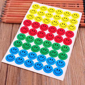 540PCS-Sheet-Cartoon-Smile-Face-Reward-Sticker-School-Merit-Praise-Sticky-Label