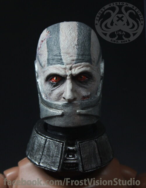 1 6 Star Wars KOTOR Darth Malak(With Collar) by Frost Vision Studio.