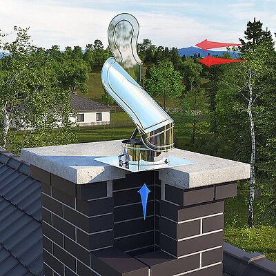 Fürs Dach Rotowent Swing-schornsteinaufsatz Zugverbesserer Kaminaufsatz Einschub Grade Produkte Nach QualitäT
