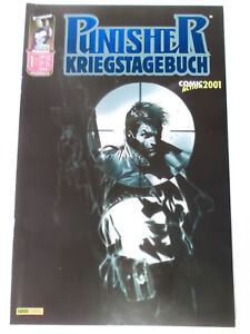 PUNISHER-Kriegstagebuch-1-Variant-Comic-Action-2001-Zustand-1