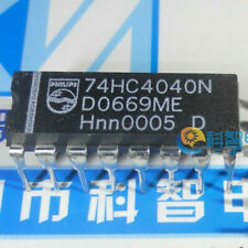 74HC4060N 14 STAGE BINARY RIPPLE COUNTER WITH OSCILLATOR  DIP  5pcs