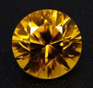 Natural-CERTIFIED-Round-9-Ct-Yellow-Ceylon-Sapphire-Loose-Gemstone