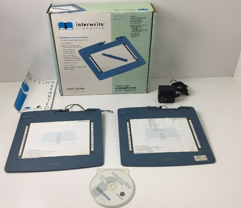 Lots Of 2 OEM interwrite schoolpad GTCO  calcomp Model - SP400