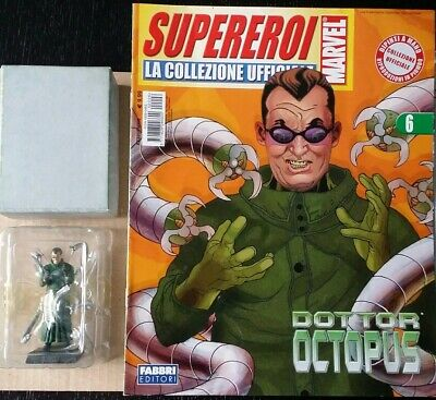 Supereroi Marvel Eaglemoss Doctor Octopus Statuina Piombo figure
