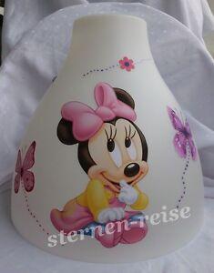 Hängelampe Minnie Maus Baby Mouse Schmetterling Hängeleuchte Lampe ...