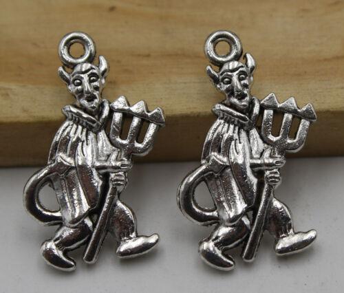 25//50pcs Retro style wizard Charm Pendant DIY Jewellery crafts 25X14mm