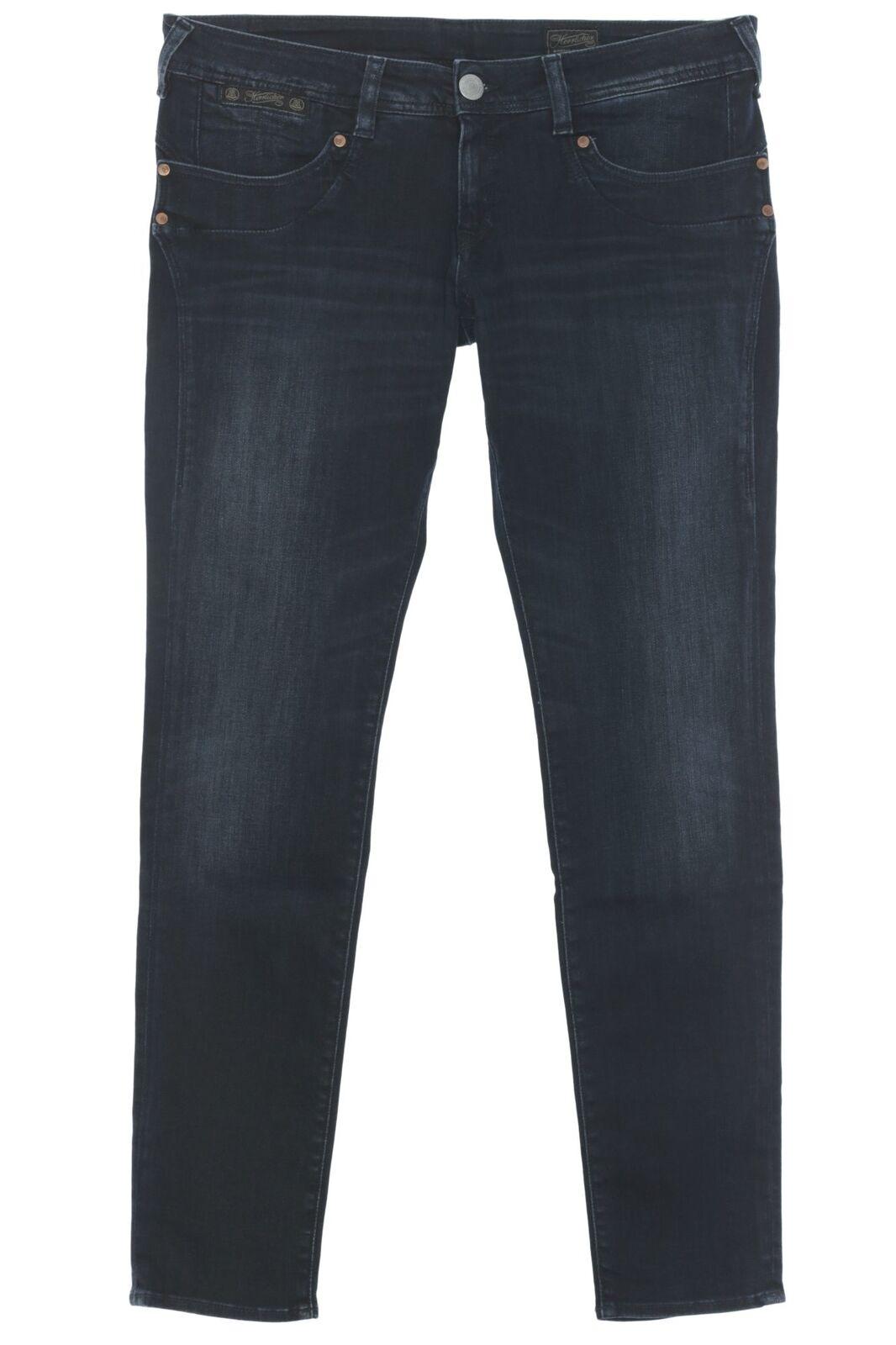 Herrlicher Piper Slim Jeans Hose Pants Damen Used Look Stretch Denim