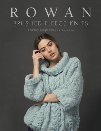 Rowan folleto brushed Fleece Knits Quail Studio 1 St Engl//alemán zb219