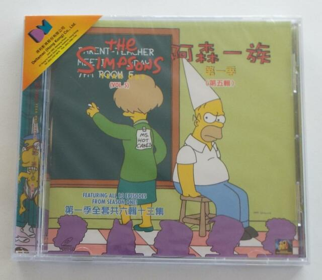 The Simpsons Year 1 Vol 5 Chinese Subtitles Vcd Plays All Dvd Players 2 Shows For Sale Online