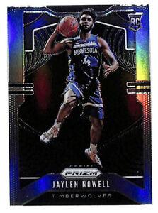 2019-20-Panini-Prizm-281-Jaylen-Nowell-silver-holo-rookie-card-Timberwolves