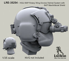 Live Resin 1/35 HGU-56/P Rotary Wing Aircrew Helmet System