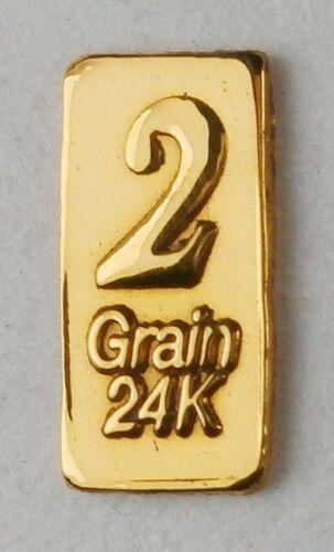 NOT GRAM 24K PURE GOLD .999 FINE BENCHMARK STRATEGIC METALS/& CERT D18b 2GN