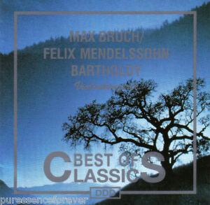 Details about BRUCH/MENDELSSOHN - Violin Concertos (Slavonica) (German 7 Tk  CD Album)