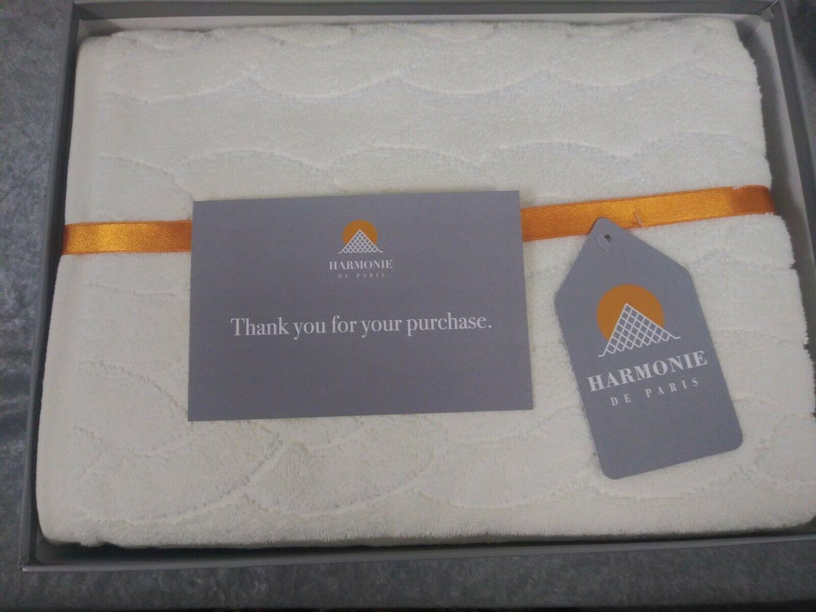 Harmonie De Paris Ultra Soft 2 Piece Bath Towel Set.