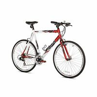 Giordano Rs700 25 700c 21 Speed Shimano Shifter Flat Bar Men's Road Bike, Large on Sale