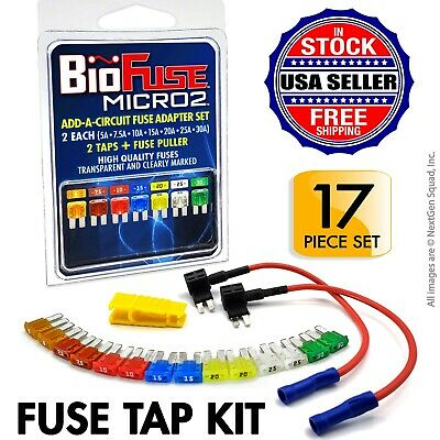 5A Blade Fuses Fuse Puller 15 Add a Circuit Fuse Tap Adapters, 15 ...