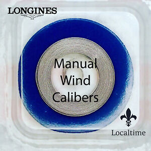 Mainspring-Watch-Service-Part-For-LONGINES-Manual-Wind-Cal-10-25-10-86-13ZN-etc