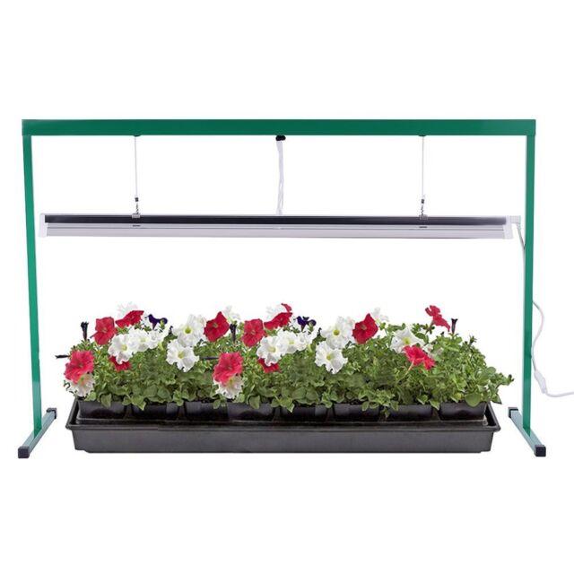 Ipower Glt5xx4 Head Start T5 54w 6400k Fluorescent Grow Light System With Stand For Sale Online Ebay