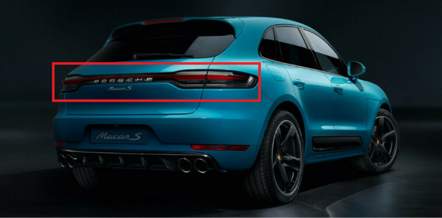 Genuine PORSCHE Macan 2019\u003e\u003e Facelift Full Set Of Rear Tail Lights  95B04490500