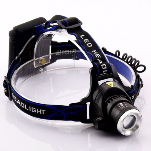 AA Battery head frontal flashlight led T6 Torch light Headlamp For Hunting lamp