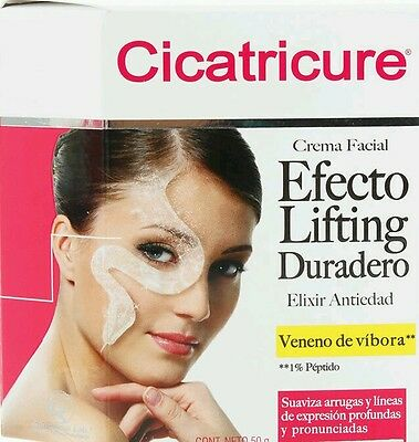 Crema efecto lifting facial