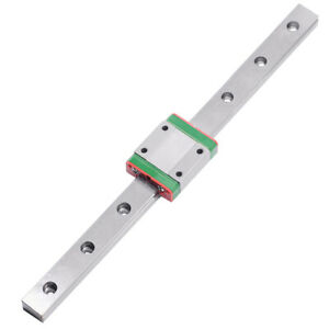 1PCS-15mm-Miniature-Linear-Guide-MGN15-L300mm-Linear-Rail-With-1pcs-MGN15H-Block
