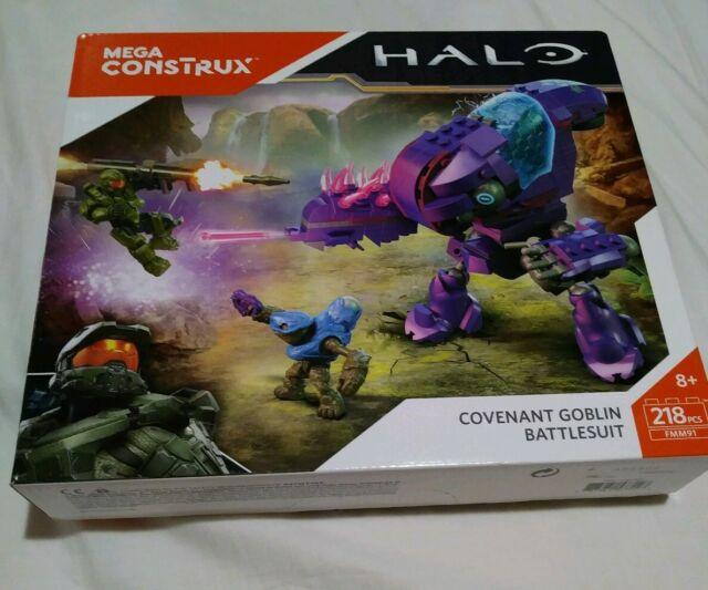 Mega Construx Halo Covenant Goblin Battlesuit Building Set, FMM91