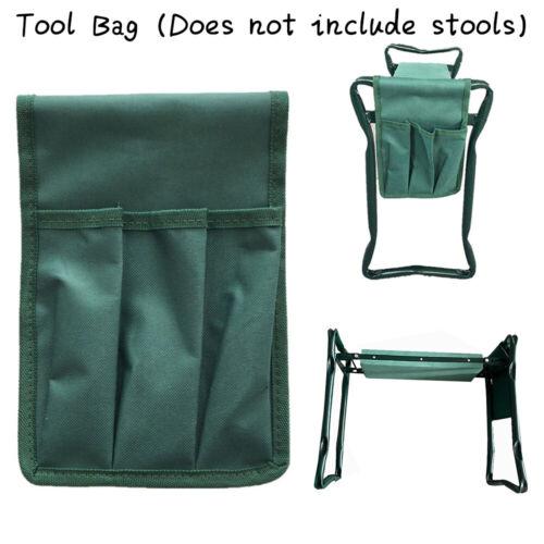 Details about  /Garden Kneeler Portable Garden Kneeling Chair Stool Tool Storage Bag Seat Pad