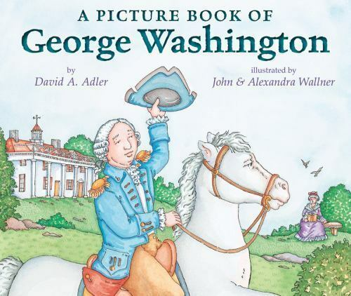 A Picture Book of George Washington (Picture Book Biography)-ExLibrary