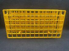 Nalgene Unwire 72 Place 13mm Yellow Acetal Plastic Test Tube Rack 5970 0213